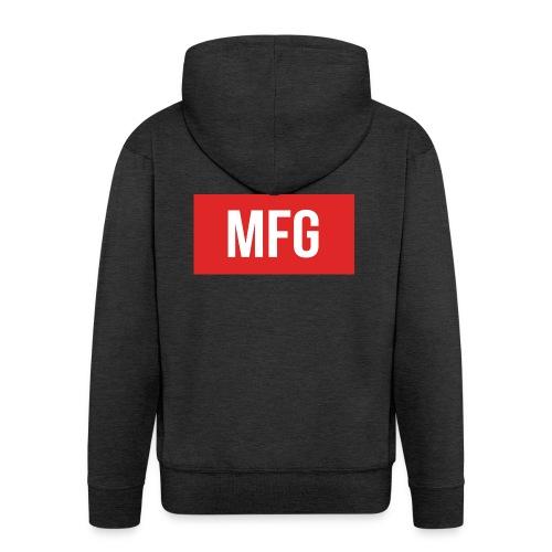 MFG on Youtube Logo - Men's Premium Hooded Jacket