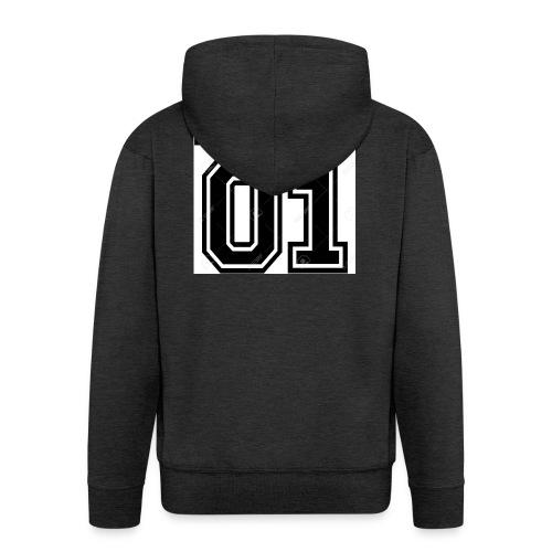 King 01 - Veste à capuche Premium Homme