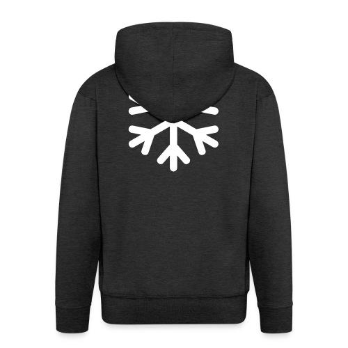 Schneeflocke - Männer Premium Kapuzenjacke
