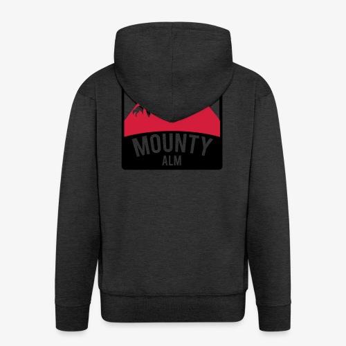 MountyAlm - Männer Premium Kapuzenjacke