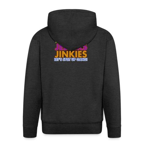 Zoinks Jeepers Jinkies! Let's split up gang! - Men's Premium Hooded Jacket
