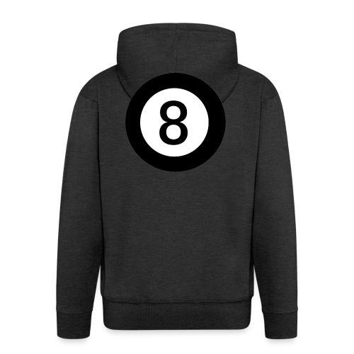 Black 8 - Men's Premium Hooded Jacket