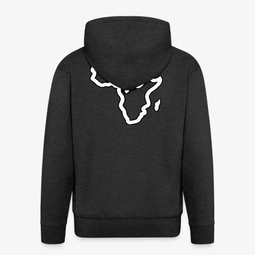 afrika pictogram - Mannenjack Premium met capuchon