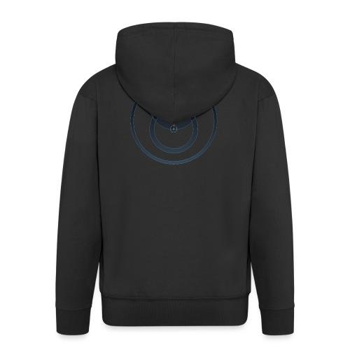 Isle Of Man QED - Men's Premium Hooded Jacket