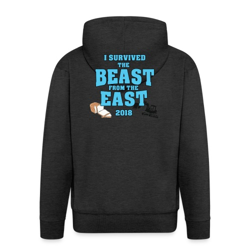 Beast from the East Survivor - Men's Premium Hooded Jacket