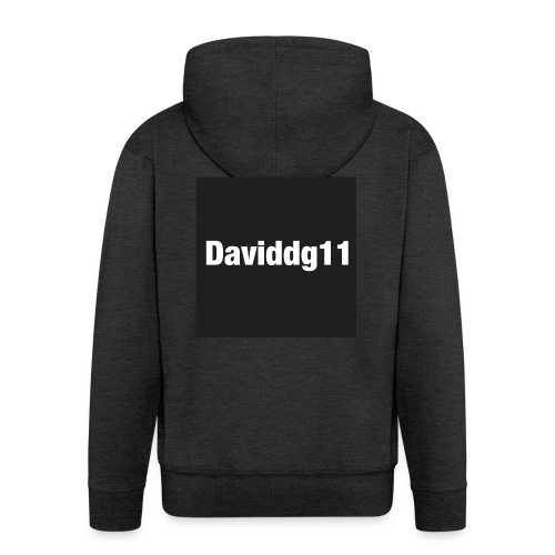 daviddg11 - Men's Premium Hooded Jacket