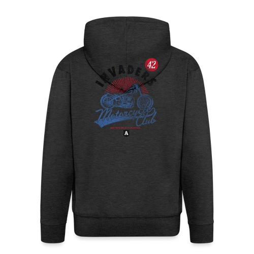 DownloadT-ShirtDesigns-com-2121724 Invaders - Men's Premium Hooded Jacket