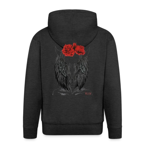 Zodiac Signs -Taurus - Men's Premium Hooded Jacket
