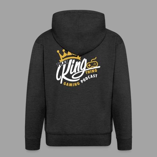 That King Thing Logo - Men's Premium Hooded Jacket