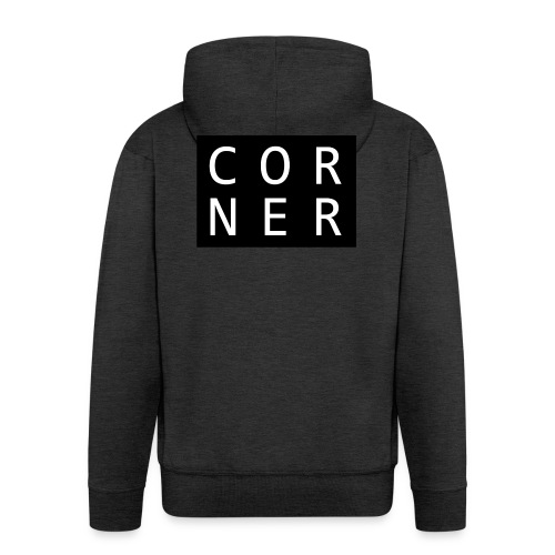 cornerbox - Herre premium hættejakke