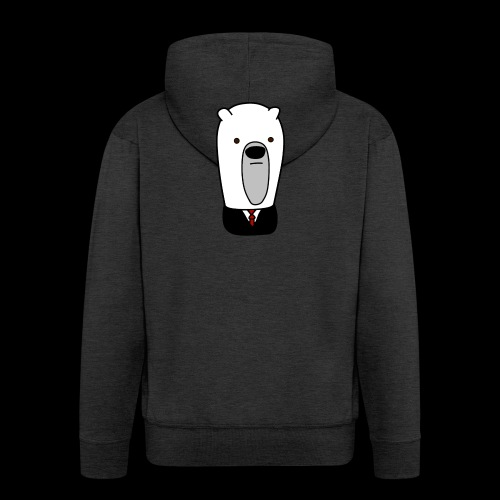 officel_polarbear_shop_logo - Herre premium hættejakke