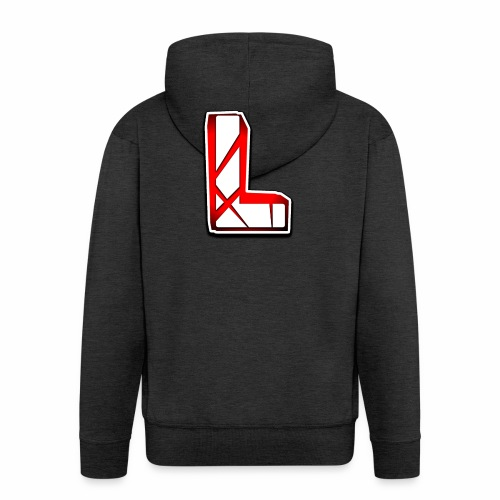 Leon Schmidt LOGO - Men's Premium Hooded Jacket