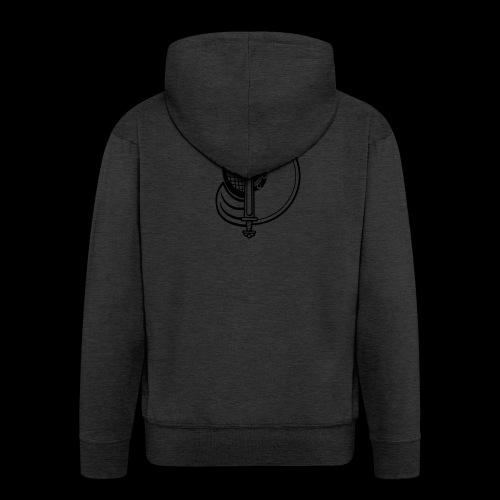 logo noir - Veste à capuche Premium Homme