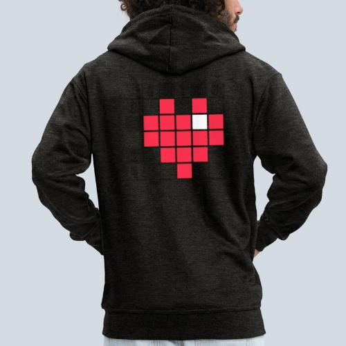 Heart Tshirt Women - Veste à capuche Premium Homme