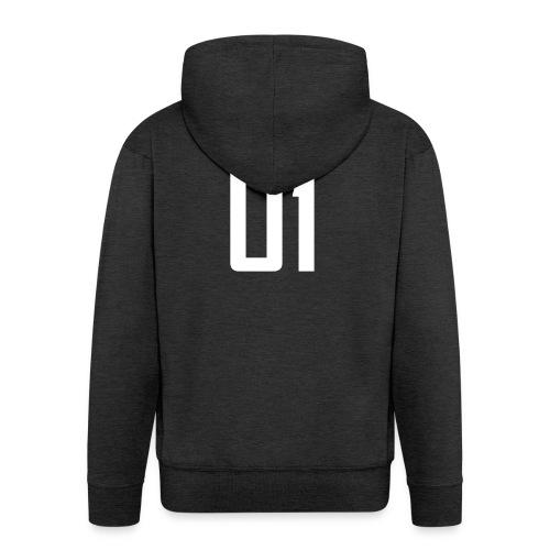 Roomijsje 01 woman/man sweater - Mannenjack Premium met capuchon