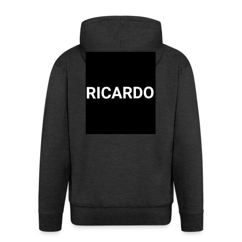 RICARDO BLAACK - Männer Premium Kapuzenjacke