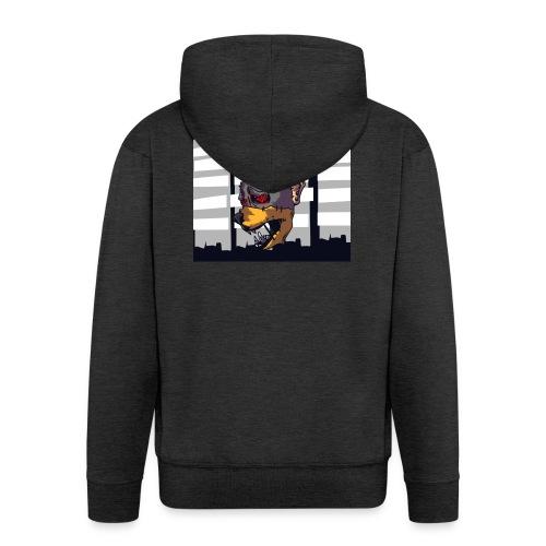Bat-City - Männer Premium Kapuzenjacke