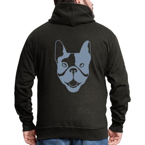 French bulldog - Men's Premium Hooded Jacket