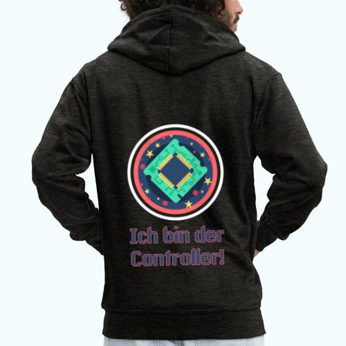 I am the controller - Men's Premium Hooded Jacket