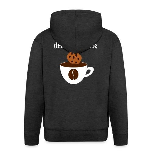 Cookies Kaffee Nerd Geek - Männer Premium Kapuzenjacke