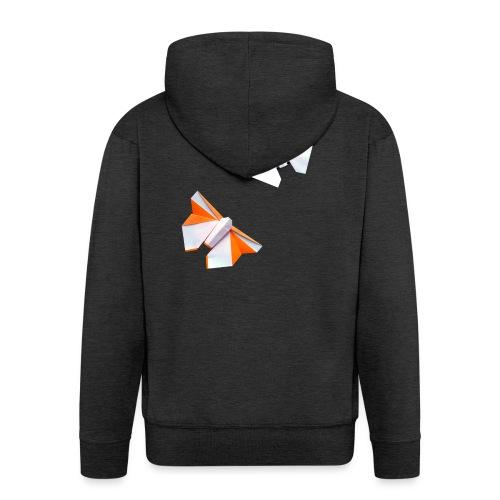 Butterflies Origami - Butterflies - Mariposas - Men's Premium Hooded Jacket