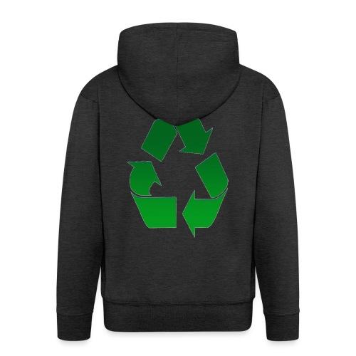 Recyclage - Veste à capuche Premium Homme