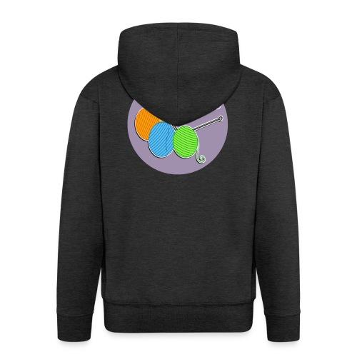 Don`t knit and drive - Männer Premium Kapuzenjacke