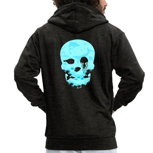 Dead Sea Tshirt ✅ - Männer Premium Kapuzenjacke