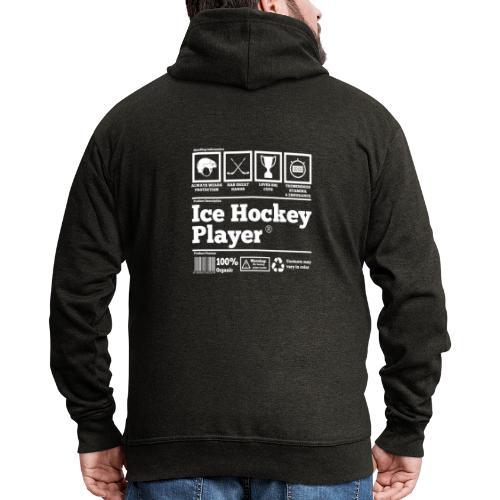 Ice Hockey Player Present Funny Hilarious - Männer Premium Kapuzenjacke