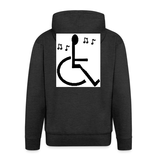 Musical Chairs - Men's Premium Hooded Jacket
