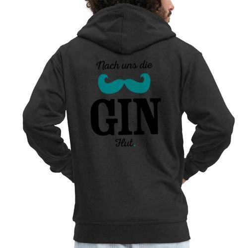 Nach uns die Gin-Flut - Männer Premium Kapuzenjacke