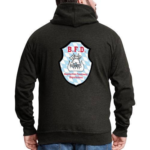 Inoffizielles bayrisches Feuerwehrabzeichen - Männer Premium Kapuzenjacke