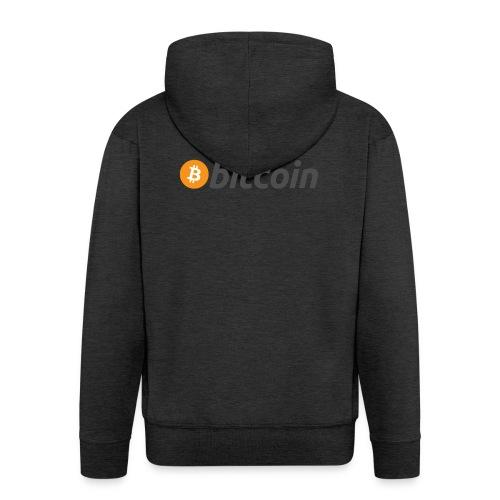 Kryptowährung - Bitcoin - Männer Premium Kapuzenjacke