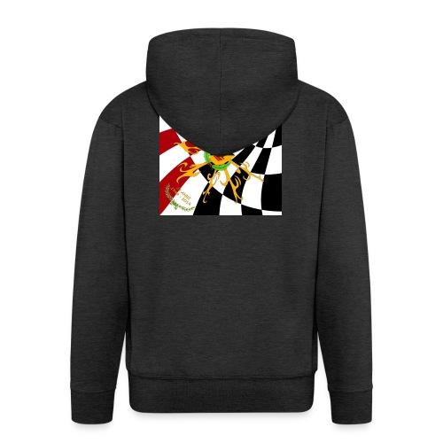 Spilla Flag - Felpa con zip Premium da uomo