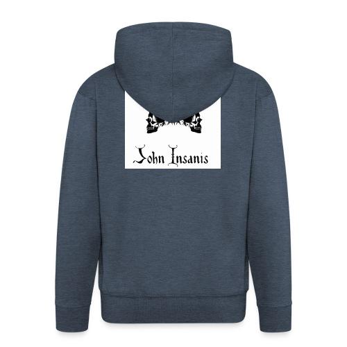 Six P & John Insanis New T-Paita - Miesten premium vetoketjullinen huppari