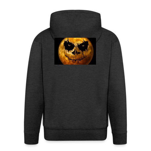 Halloween Mond Shadow Gamer Limited Edition - Männer Premium Kapuzenjacke