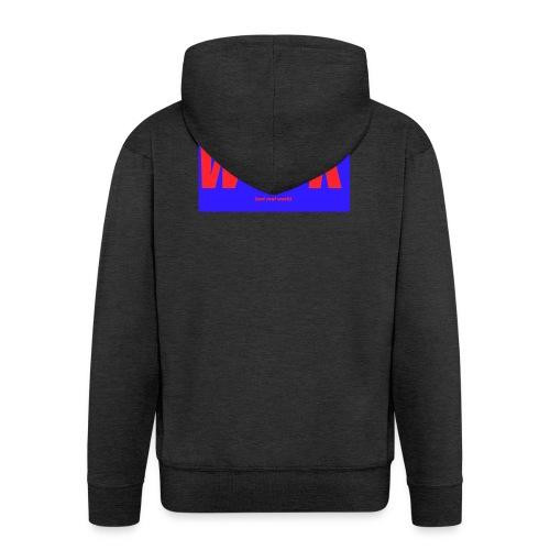 work - Miesten premium vetoketjullinen huppari
