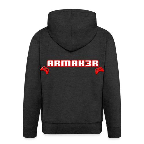 ARMAK3R 2nd Edition - Felpa con zip Premium da uomo