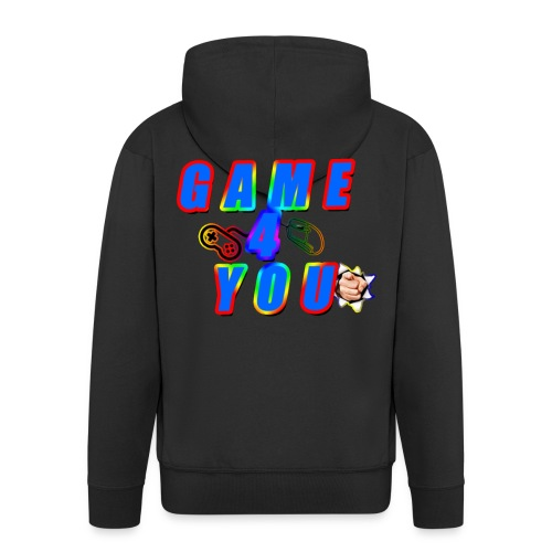 Game4You - Men's Premium Hooded Jacket