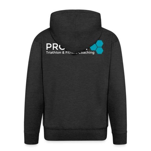 PROJECT whitetxt - Men's Premium Hooded Jacket