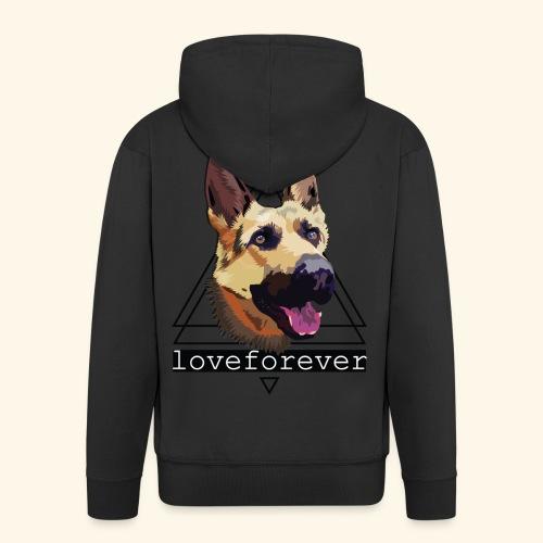 SHEPHERD LOVE FOREVER - Chaqueta con capucha premium hombre