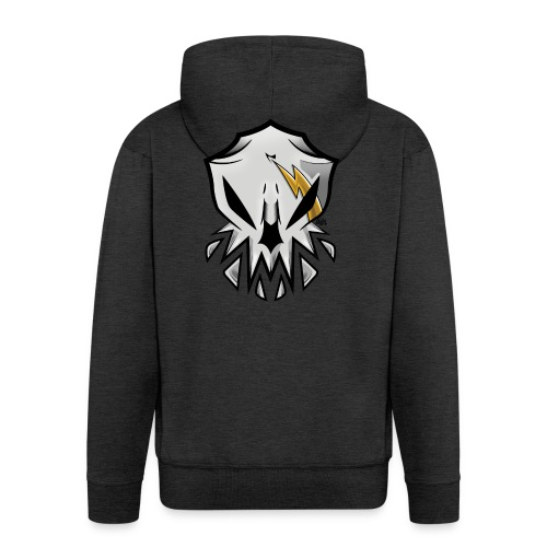 Alien Skull - Chaqueta con capucha premium hombre