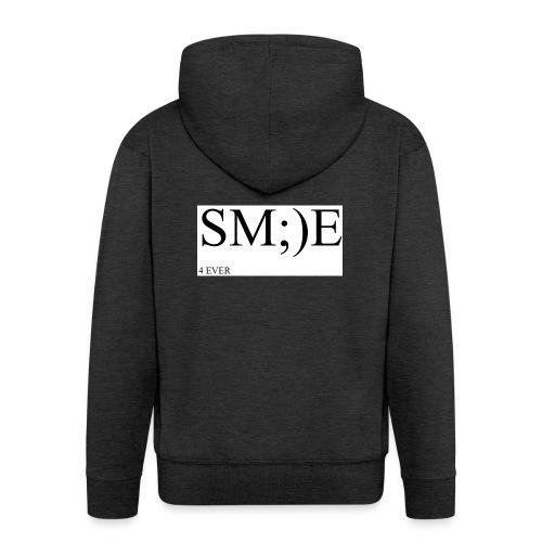 SM;)E 4 EVER - Men's Premium Hooded Jacket