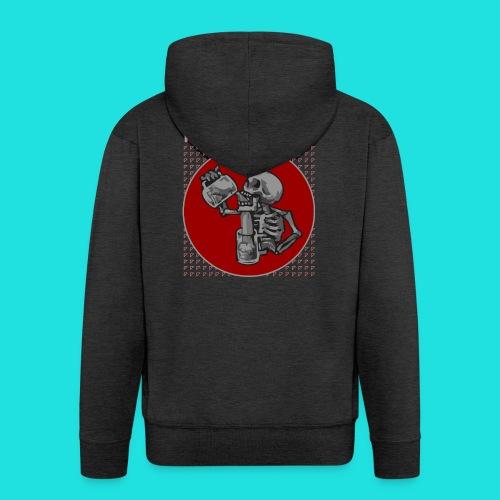 Kampftrinker - Männer Premium Kapuzenjacke