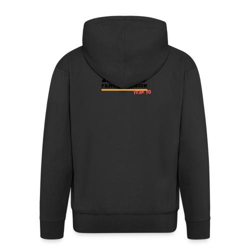 Alves - Felpa con zip Premium da uomo