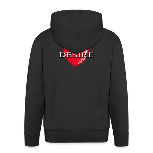 Desire Nightclub - Men's Premium Hooded Jacket