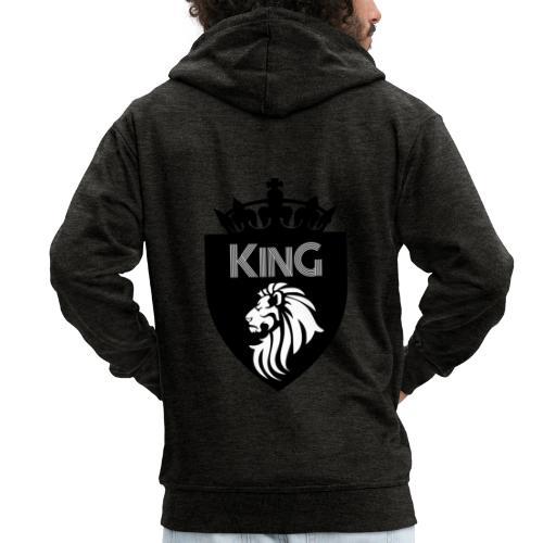 king - Veste à capuche Premium Homme