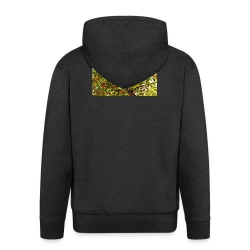 kersenboom afdruk/print - Mannenjack Premium met capuchon