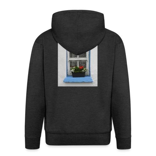 Cashed Cottage Window - Men's Premium Hooded Jacket