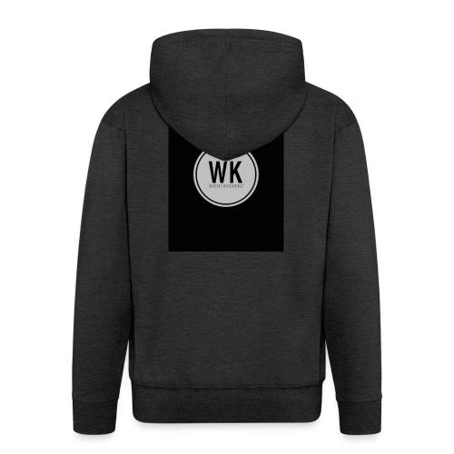 WienerKickerZ Logo - Männer Premium Kapuzenjacke